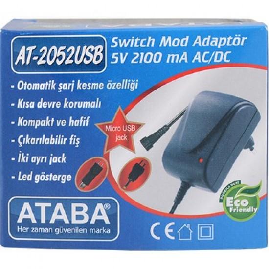 Ataba At-2052 Usb 5 Volt 2.1 Amper Adaptör