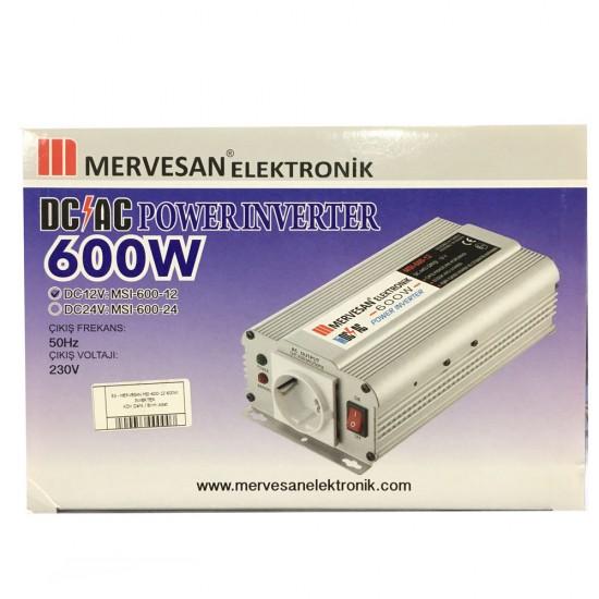 Mervesan Msi-600-12 600w Inverter