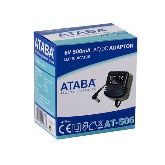 Ataba At-506 6v 500ma Adaptör