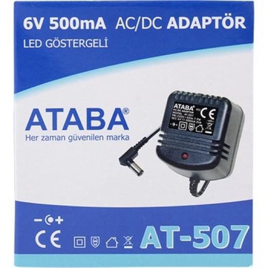 Ataba At-507 6v 500ma DC Adaptör