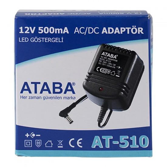 Ataba At-510 12v 500 Ma DC Adaptör