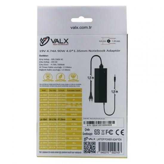 Valx La-19041 19v 4.74a 90w Adaptör