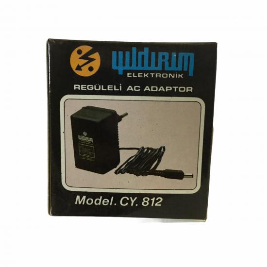 Yildirim Cy-812 4,5v 300ma Adaptör