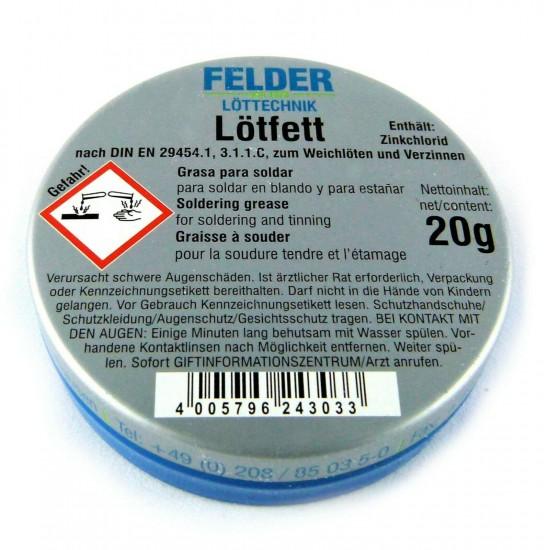 Felder Löttechnik 20g Lehim Pastası