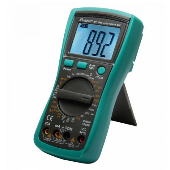 Pro'skit Mt-1280 Digital Ölçü Aleti