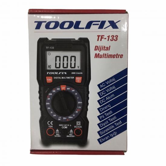Toolfix Tf-133 Dijital Multimetre