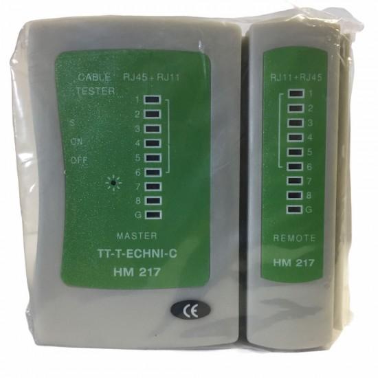 Tt T-echni-c Hm 217 Rj11+rj45 Test Cihazı