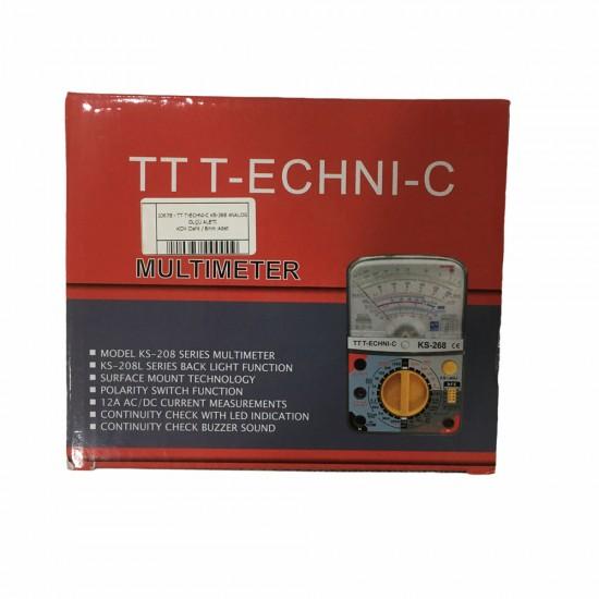 Tt T-echni-c Ks-268 Analog Ölçü Aleti