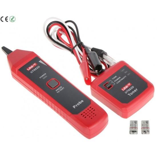 UNIT UT-682D Kablo Bulucu Toner Probe Kit
