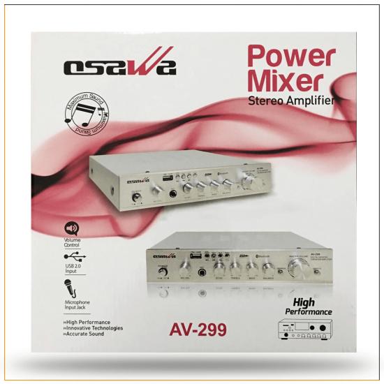 Osawa AV-299 USB/SD/Bluetooth 160 Watt Stereo Anfi