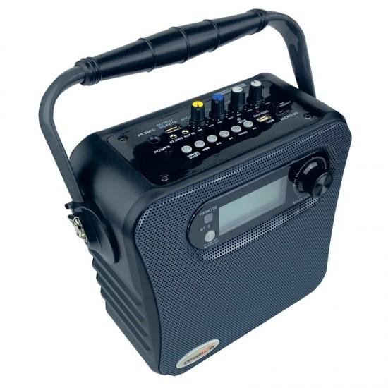 Osawa Osw-8130 Uhf El ve Yaka Mikrofonlu Usb/Sd Portatif Amfi