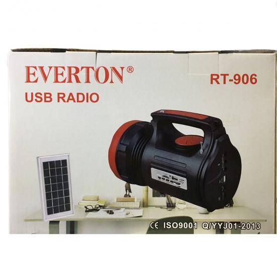 Everton Rt-906 Güneş Enerjili El Feneri