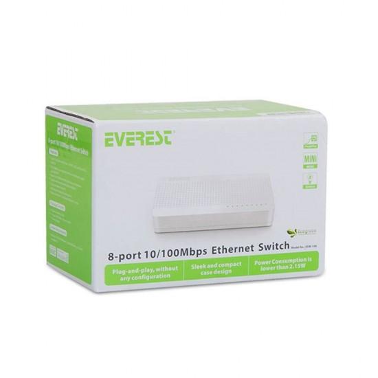 Everest Esw-108 8 Port 10/100 Switch
