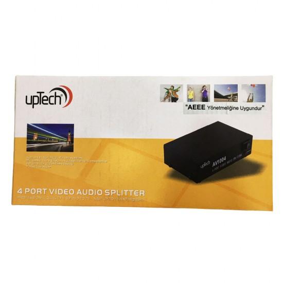 Uptech Av1004 4port Audio/Video Dağıtıcı
