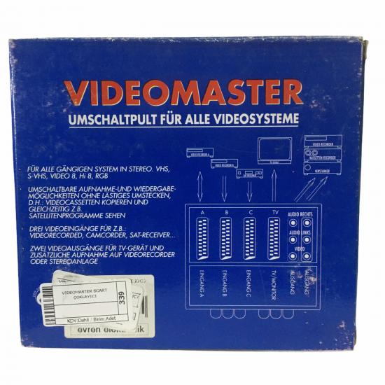 Videomaster Scart Çoklayıcı