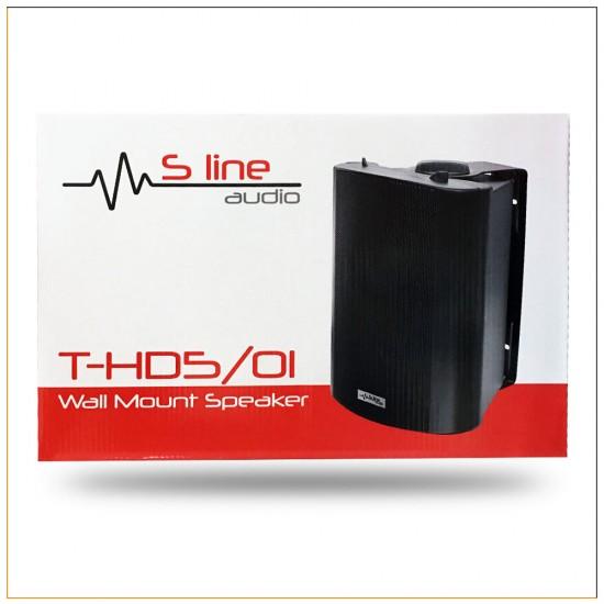 S Line Audio T-hd5/01 Duvar Tipi Kabinli Seslendirme Hoparlörü