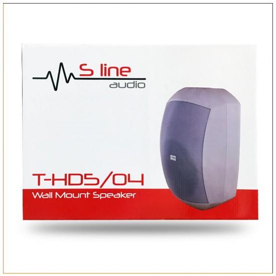 S Line Audio T-hd5/04 Duvar Tipi Kabinli Seslendirme Hoparlörü