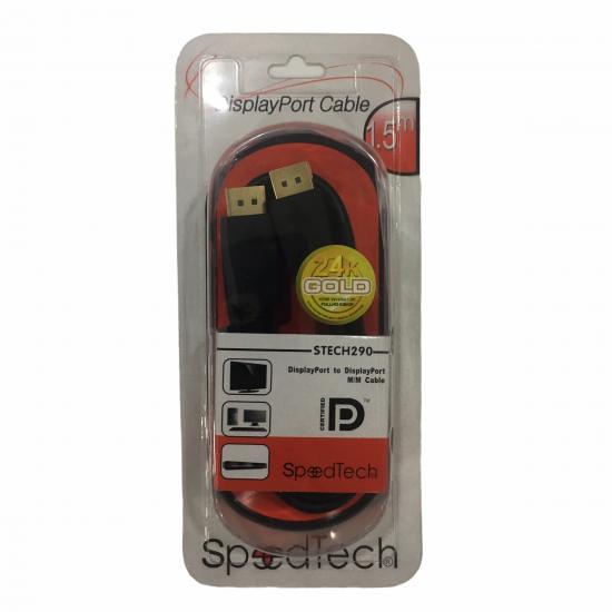 Speedtech Stech290 Display Port To Display Port Kablo 1.5 mt