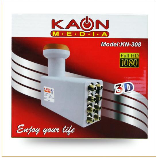 Kaon KN-308 Sekizli Full HD Lnb