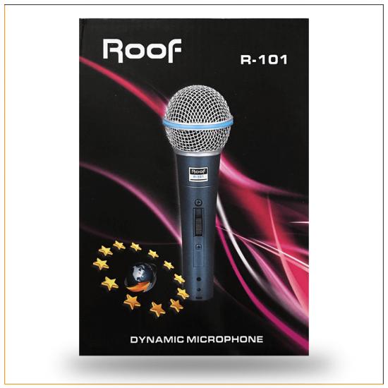 Roof R-101 Dinamik El Mikrofon