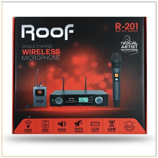 Roof R-201 (1 El ) Tek Kanal Kablosuz Mikrofon