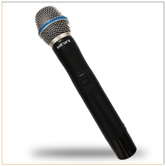 Satürk STM-360EL Telsiz El Mikrofonu ve Alıcı