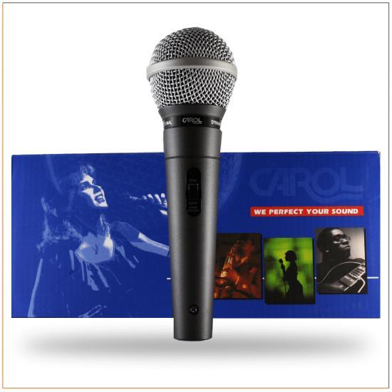 Carol GS-55 Kablolu Dinamik El Mikrofonu
