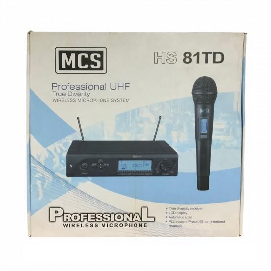 Mcs Hs-81td Uhf Telsiz Mikrofon