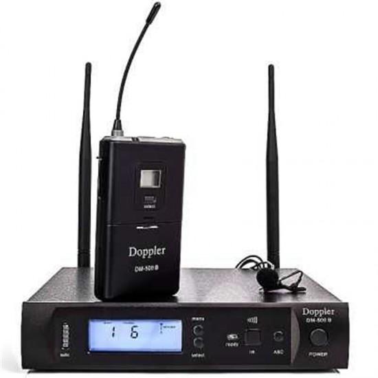 Doppler Dm-500 B Telsiz Yaka Mikrofon
