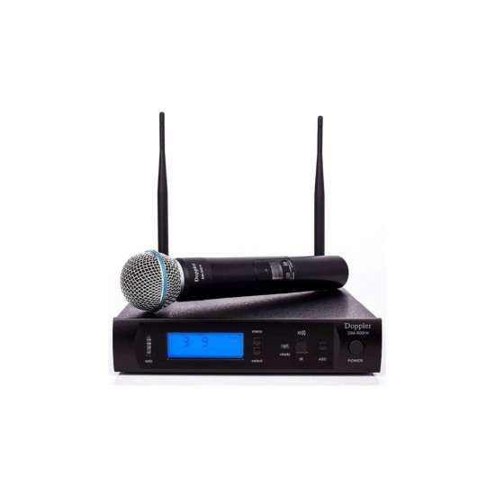 Doppler Dm-500 H Telsiz El Mikrofon