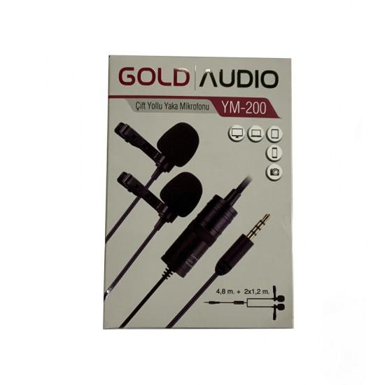 Gold Audio Ym-200 Yaka Mikrofonu