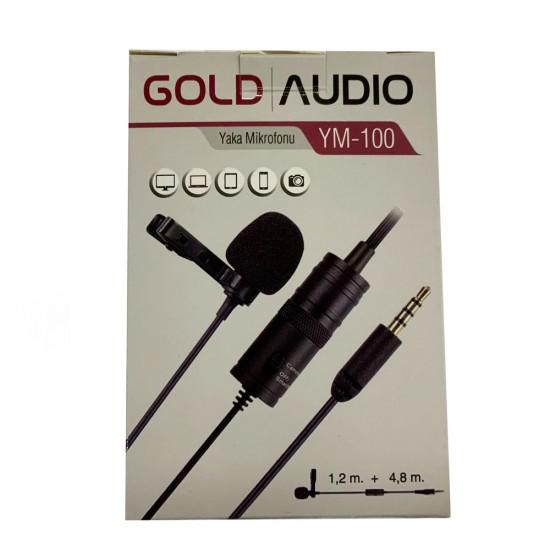 Gold Audio Ym-100 Yaka Mikrofonu