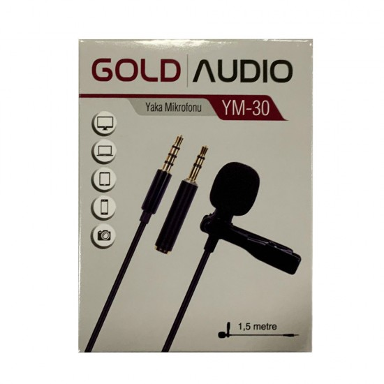 Gold Audio Ym-30 Yaka Mikrofonu