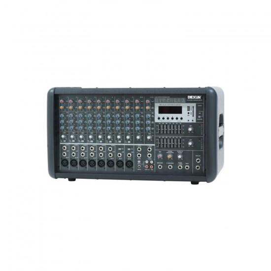 Dexun D-1000fx12 Powered Mixer