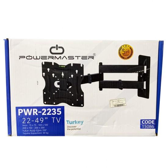 """Powermaster Pm 2235 22"""" - 49"""" TV Askı Aparatı"""