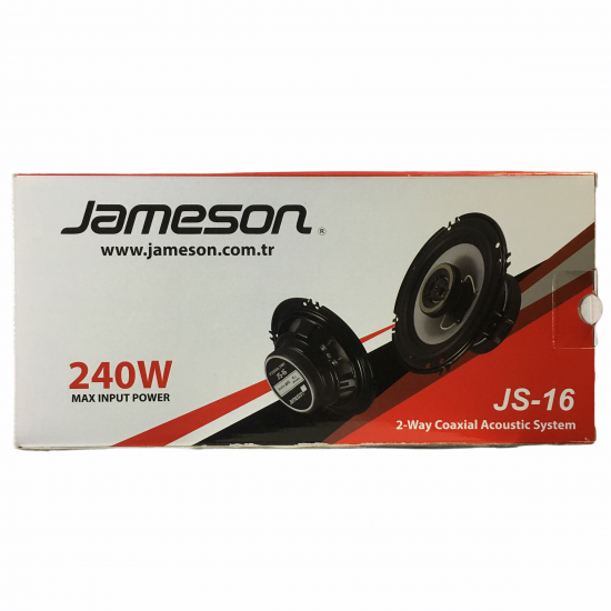 Jameson Js-16 16cm Oto Hoparlör