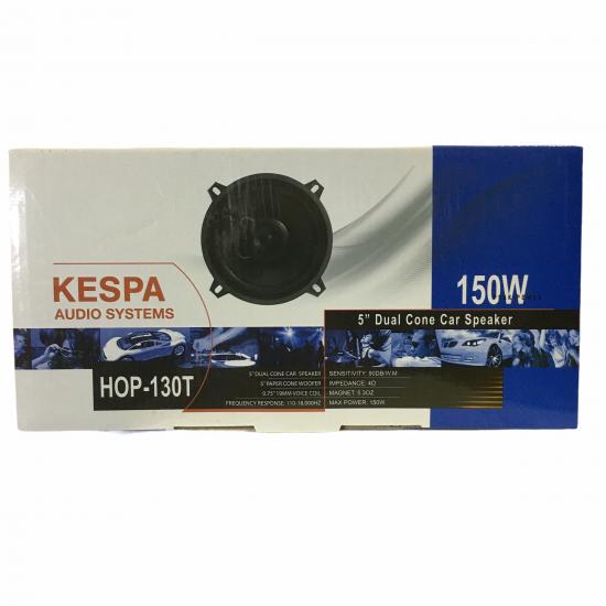 "Kespa Hop-130t 150w 5"" Oto Hoparlör"