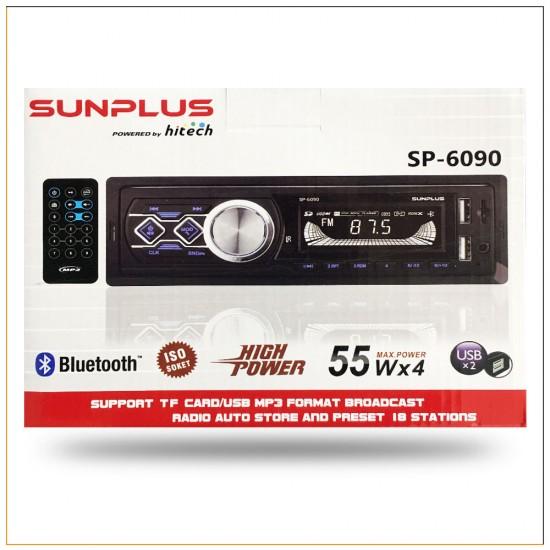 Hitech Sunplus Sp-6090 Oto Medya Player Teyp
