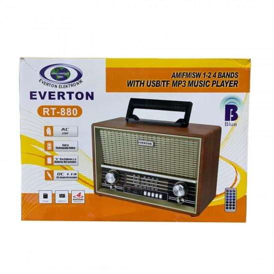 Everton Rt-880bt Usb Radyo