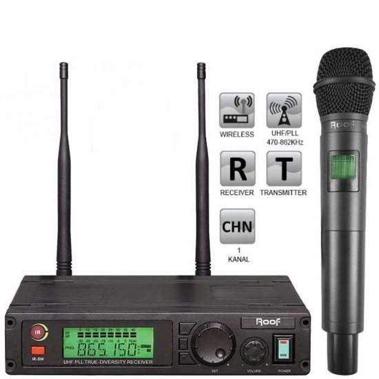 Roof R-1100 (1 El ) Tek Kanal Kablosuz Mikrofon
