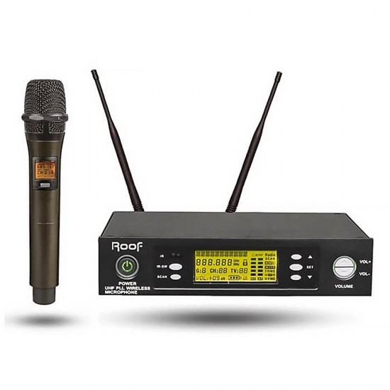 Roof R-1150S (1 El ) Tek Kanal Kablosuz Mikrofon