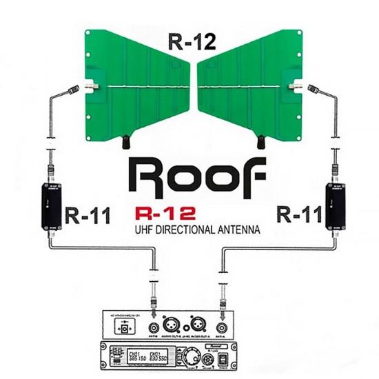 Roof R-12 UHF Anten