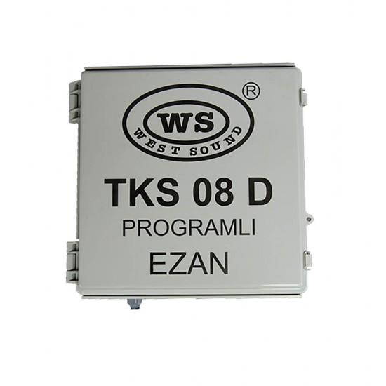 West Sound TKS-08D Programlı Ezan Saati (Direk Tipi)