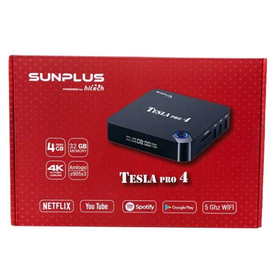 Sunplus Hitech Tesla Pro 4 Tv Box