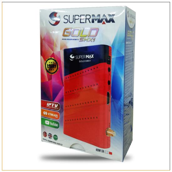 Supermax Gold SMX1 HD IPTV ve Uydu Alıcı