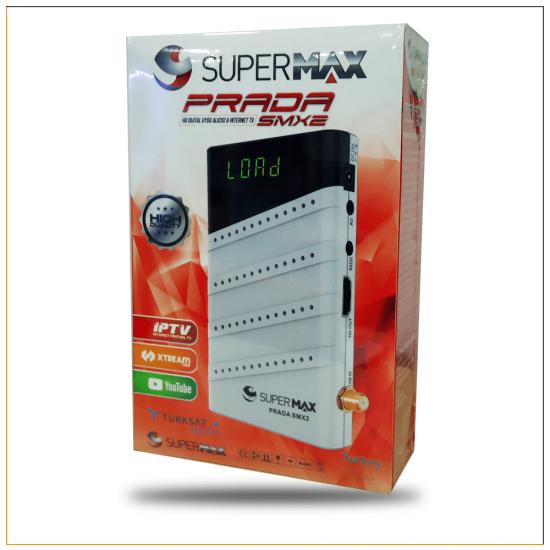 Supermax Prada SMX2 Mini HD Uydu ve IPTV Alıcı