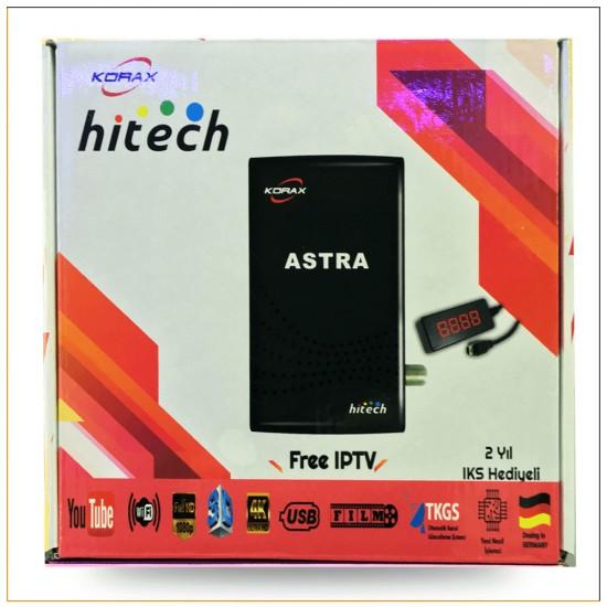 Korax Hitech Astra Mini HD + IPTV Uydu Alıcı
