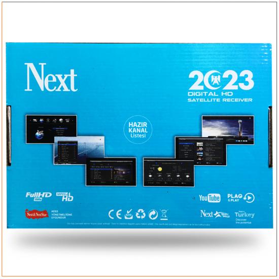 Next 2023 Hd ve Scart Uydu Alıcı (2020 Model - Yeni Kasa)