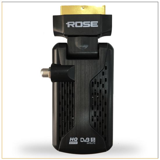 Rose DR-5040 Mini Scart (SD) Uydu Alıcı