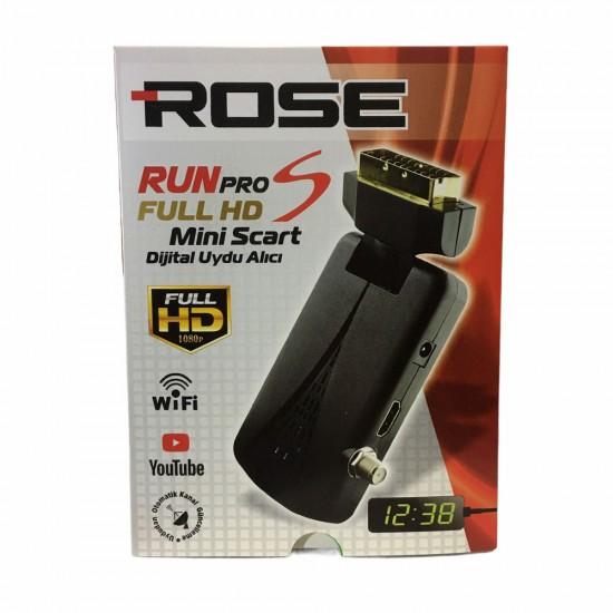 Rose Run Pro S Mini Scart Uydu Alıcısı